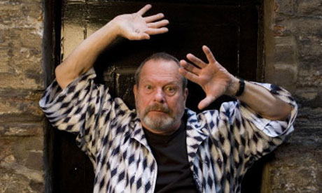 Film director and former Monty Python cast member Terry Gilliam