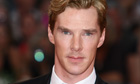 Benedict Cumberbatch, who is set to play Smaug and the Necromancer in Peter Jackson's The Hobbit