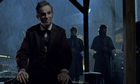 Playing politics &#8230; Daniel Day-Lewis as the president in Lincoln.