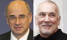 Casting the news composite: Lord Leveson and Frank Langella