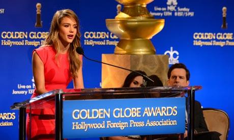 Jessica Alba announces nominations at th