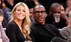 Eddie Murphy, officially Hollywood's most overpaid actor in 2012, with girlfriend Paige Butcher.