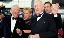 Oscars 2012: Max Von Sydow and Christopher Plummer