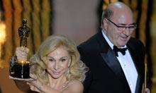 Oscars 2012: Dante Ferretti and Francesca Lo Schiavo