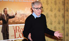Woody Allen at the To Rome With Love photocall