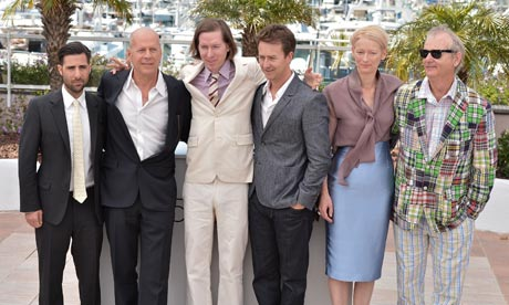 Moonrise Kingdom photo call at Cannes 2012