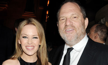 Kylie Minogue and Harvey Weinstein at the Killing Them Softly after party