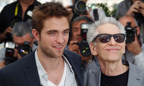 David Cronenberg and Robert Pattinson at Cannes for Cosmopolis