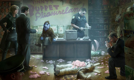 happytime murders concept 008 All things considered, it would have been easier to secure a Vietnamese sex ...