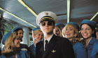 Leonardo DiCaprio as Frank Abagnale Jr in Steven Spielberg's Catch Me If You Can.