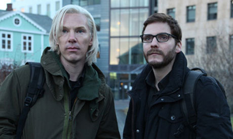 Benedict Cumberbatch as Julian Assange in a still from The Fifth Estate