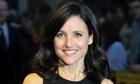 Julia Louis-Dreyfus at the London film festival premiere of Enough Said