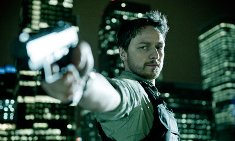 James McAvoy as Max Lewinsky in Welcome to the Punch
