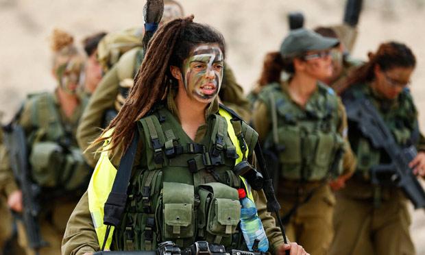 Israeli Women Soldiers Maxim