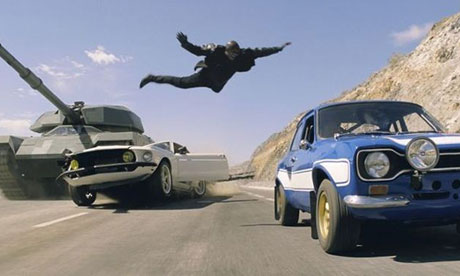 Fast and Furious 6 film still