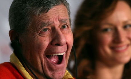 Jerry Lewis at the Max Rose press conference