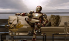 Sitting pretty … Iron Man 3