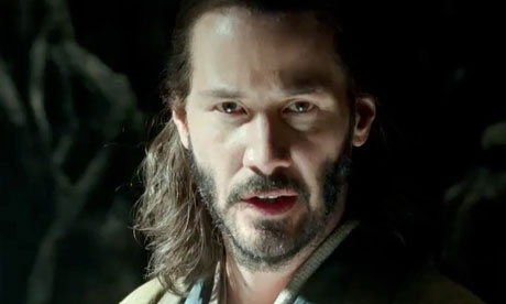 Keanu Reeves in the 47 Ronin trailer: swords, dragons, furrowed brows