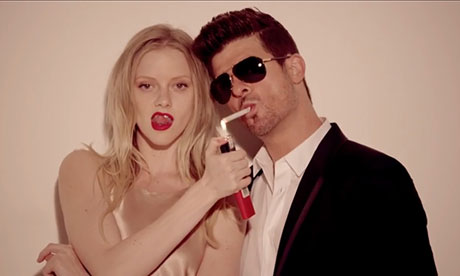 Has Robin Thicke just given 2013's most dreadful interview?