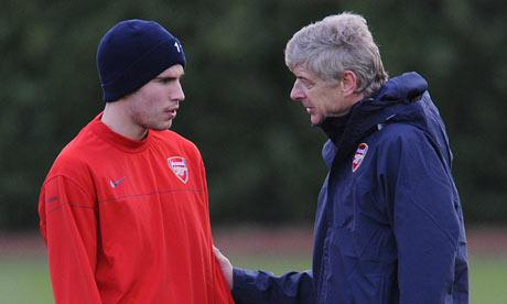 Arsene Wenger and Robin