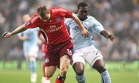 Manchester City v Hamburg