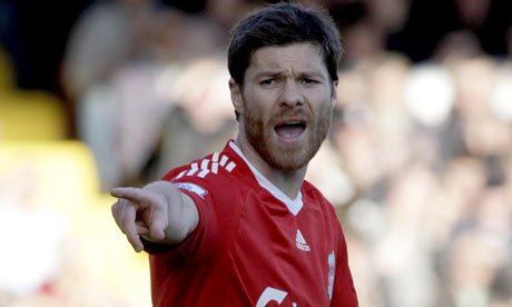 Xabi Alonso Liverpool 001 Sunday Sun & Observer say Thiago Alcantara likely to join Manchester United