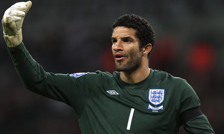 David James 001 Who Will Keep Goal For England?