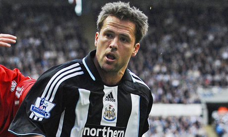 Michael Owen Newcastle Middlesbrough