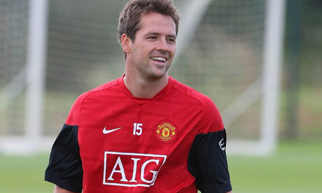 Michael Owen, of Manchester United