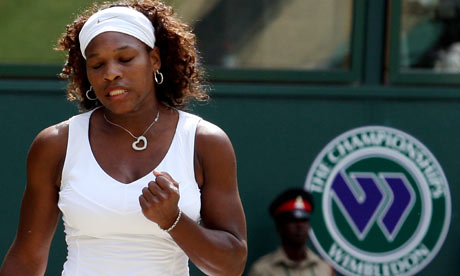 serena williams. Serena Williams celebrates