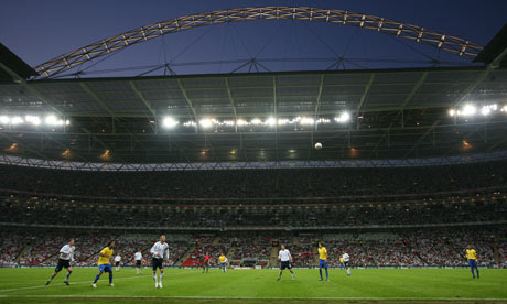 The last England versus Brazil encounter at Wembley. The next time they meet will be in Qatar.