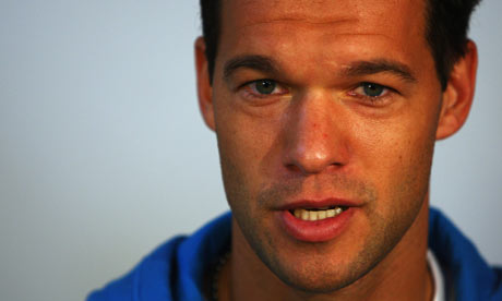 Chelsea's Michael Ballack hints at retirement next summer | Football | The Guardian - Michael-Ballack-001