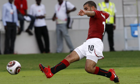 Emad Motaeb scores for Egypt