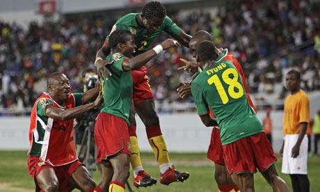 Cameroon v Tunisia