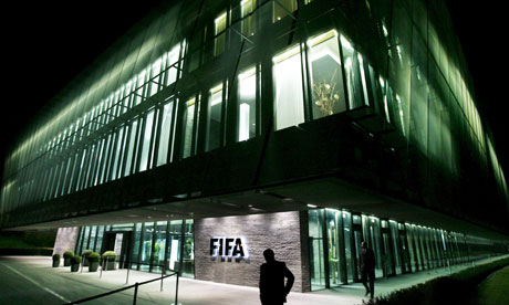 The Fifa headquarters in Zurich, Switzerland