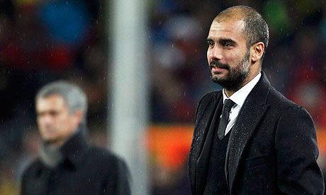 The Barcelona coach, Pep Guardiola, was admitted to hospital on Wednesday