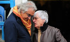 Bernie Ecclestone is the new majority shareholder at QPR after buying out Flavio Briatore
