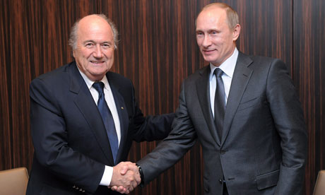 Vladimir Putin, Sepp Blatter