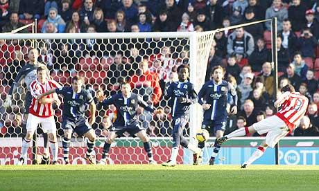 Stoke's Danny Higginbotham