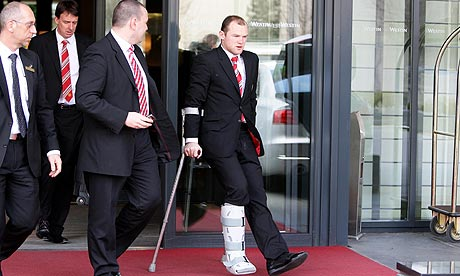 foto Wayne Rooney Injured