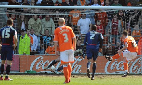 Nottingham Forest may have finished the league in third, but theyll be fearing bogey team Blackpool in the playoffs