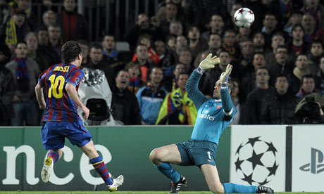 Champions League: Barcelona 4-1 Arsenal (Aggregate 6 -3)