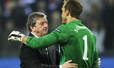 Glum Roy Hodgson consoles Mark Schwarzer