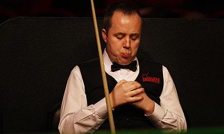 john higgins snooker. John Higgins was suspended