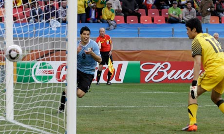 Luis Suarez, Uruguay v South Korea