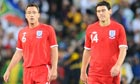 England's John Terry and Gareth Barry