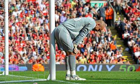 Pepe Reina Chin Up Son You Could Be Off To Manchester United