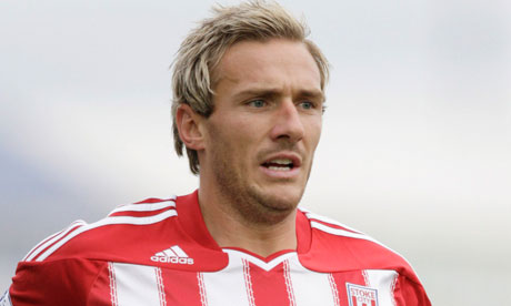 Liam Lawrence Stoke39s Liam Lawrence hopes to seal move to Celtic this