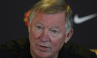 Sir Alex Ferguson, Manchester United press conference