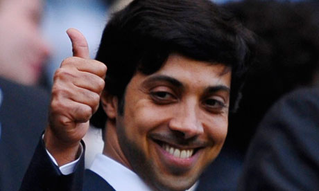 Sheikh Mansour has invested a huge amount of money into Manchester